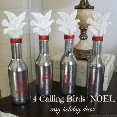 4 Calling Birds – NOEL Holiday Decor (12 Days of Christmas Tour)