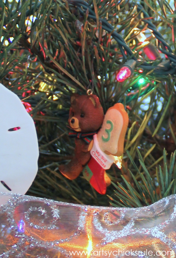 Oh Christmas Tree - 2014 - Bear -#Christmastree #ornaments #holidaydecor #holidays #Christmas artsychicksrule.com