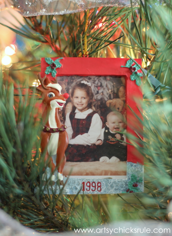 Oh Christmas Tree - 2014 - My Babies - #Christmastree #ornaments #holidaydecor #holidays #Christmas artsychicksrule.com
