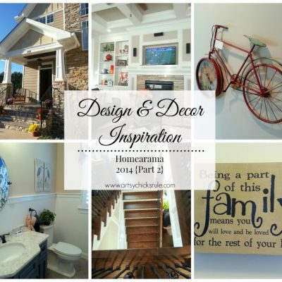 Design & Decor Inspiration – Homearama {Part 2}