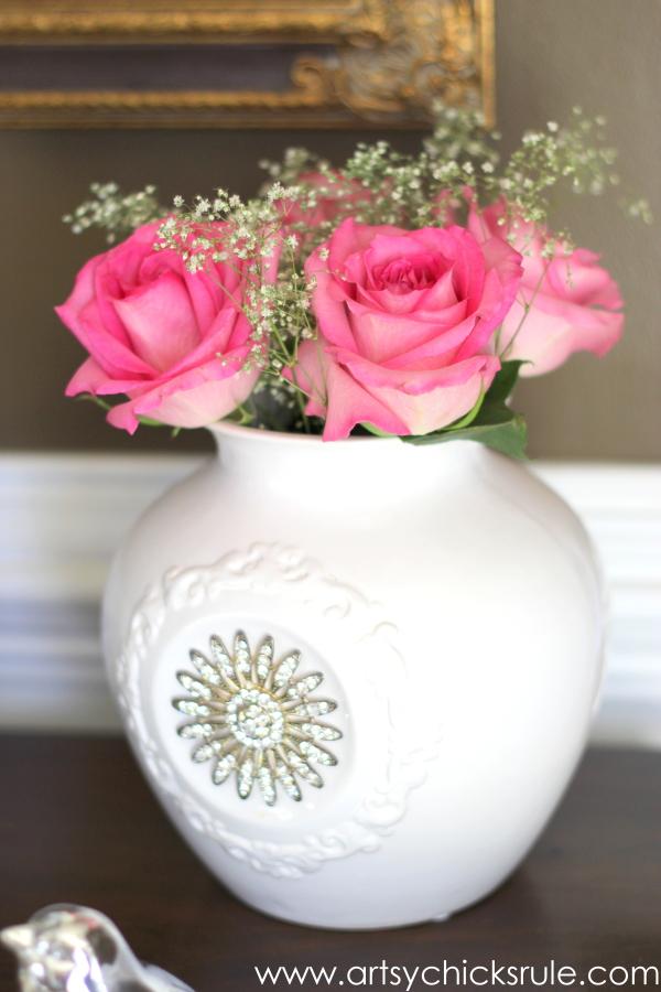 Shop Your Home - Decorating Challenge - First of Three #makeover #decor #decorating artsychicksrule.com (2)