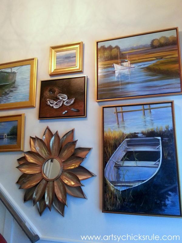 Coastal Decor Galore - Homearama Suffolk Virginia - artsychicksrule.com #homearama #coastaldecor #coastal #beachdecor (4)
