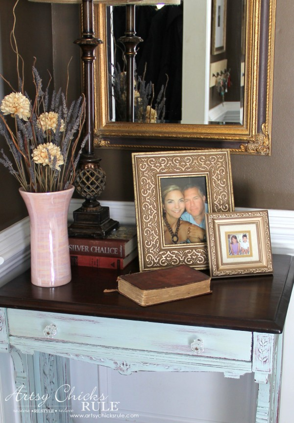 Decor Challenge - Shop Your Home - Part 2 - Up Close - #homedecor #thriftydecor