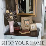 A Decorating Challenge – Shop Your Home (Foyer Part 2)