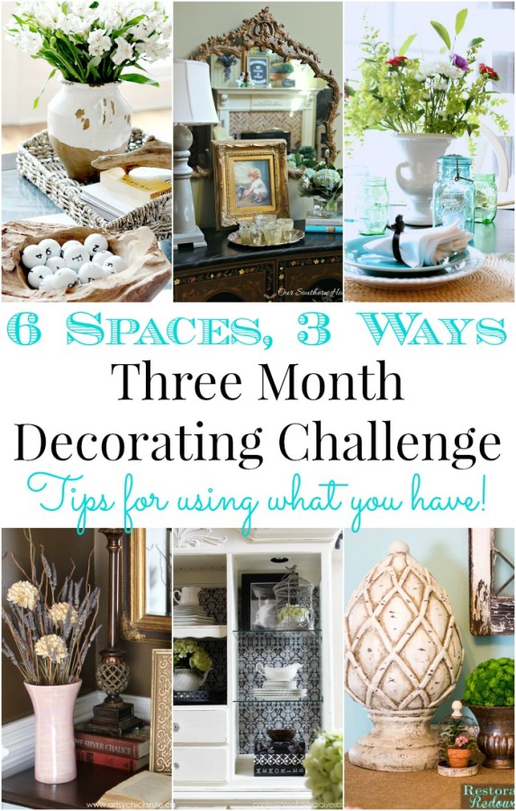 Decorating Challenge - Shop Your Home- Month 2
