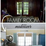 Family Room Makeover (Before & After)