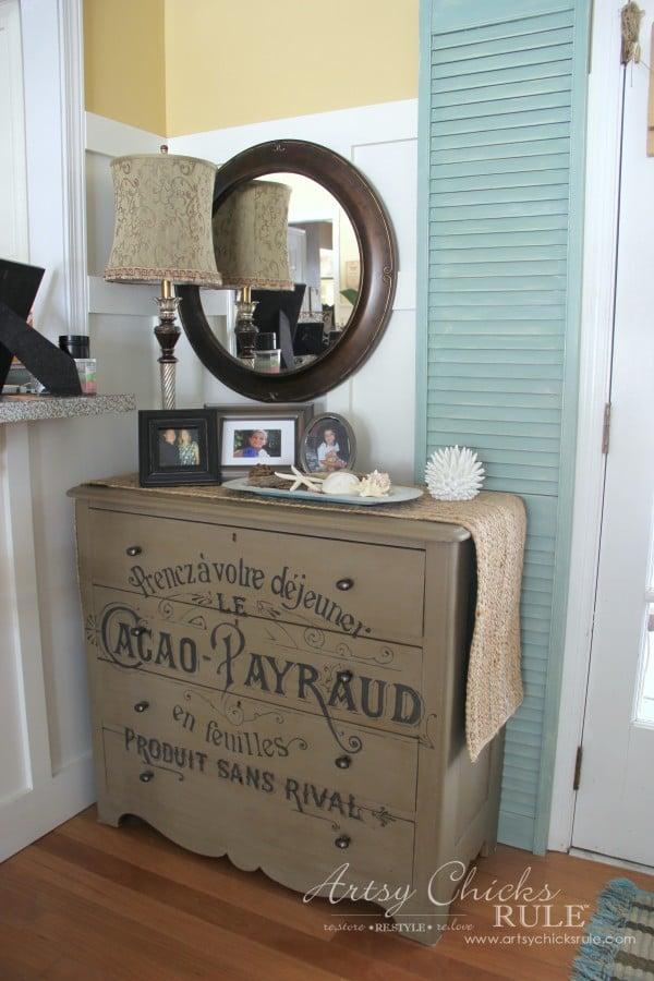 Family Room Makeover - After Back Corner - #makeover #diy #roommakeover #artsychicksrule artsychicksrule.com
