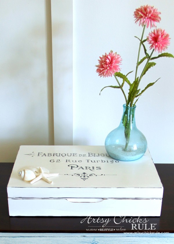SIMPLE Makeover with Chalk Paint artsychicksrule.com