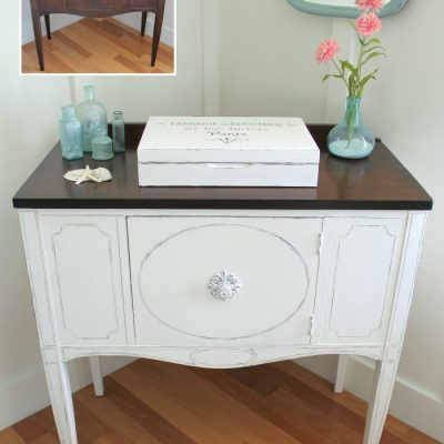 Sideboard Makeover w/Java Gel & Chalk Paint (Themed Furniture)
