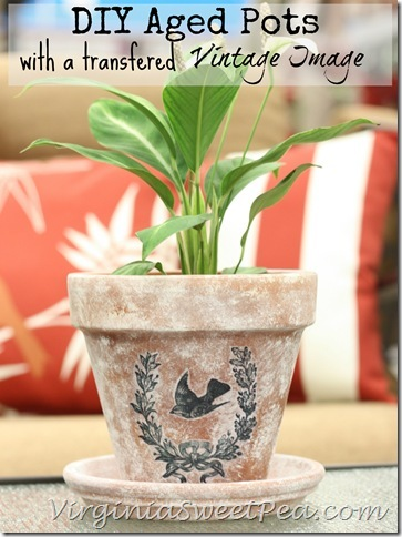 DIY-Aged-Pots-with-a-Transfered-Vintage-Image-by-Sweet Pea