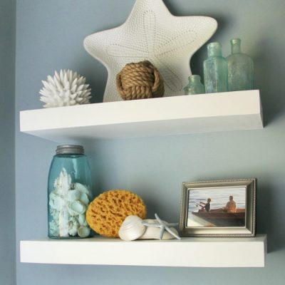 Floating Shelves with The Home Depot, P&G and a Giveaway!