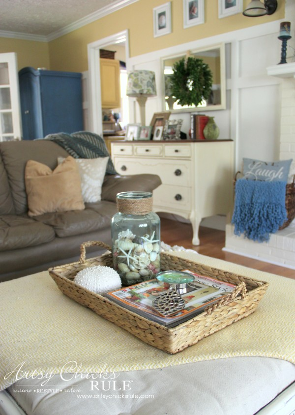 Beau Decorating With Baskets   Functional And Decorative Storage Solution   For  Magazines And Remotes! Artsychicksrule