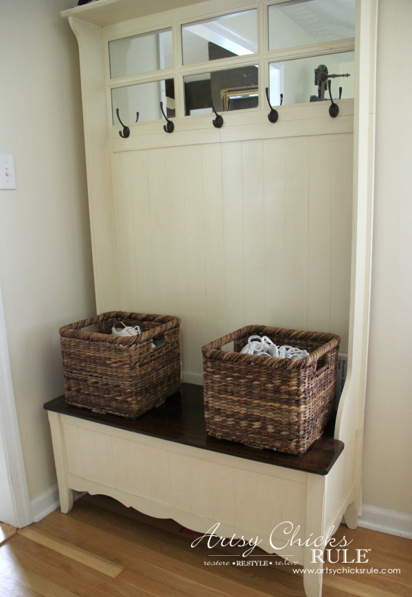 ... Shoes By The Door Decorating With Baskets Functional Decorative Storage  Solution