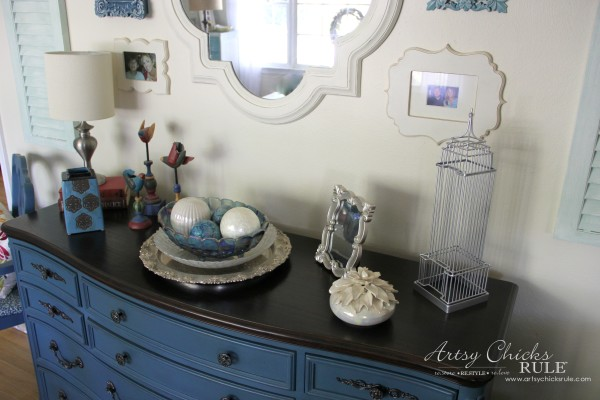 Home Treasure Swap with Porch - Thrifty decorating - artsychicksrule.com #homedecor #thrifty