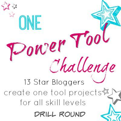 Industrial Style DIY Paper Towel Holder - Power Tool Challenge Drill - #diy #industrial artsychicksrule.com