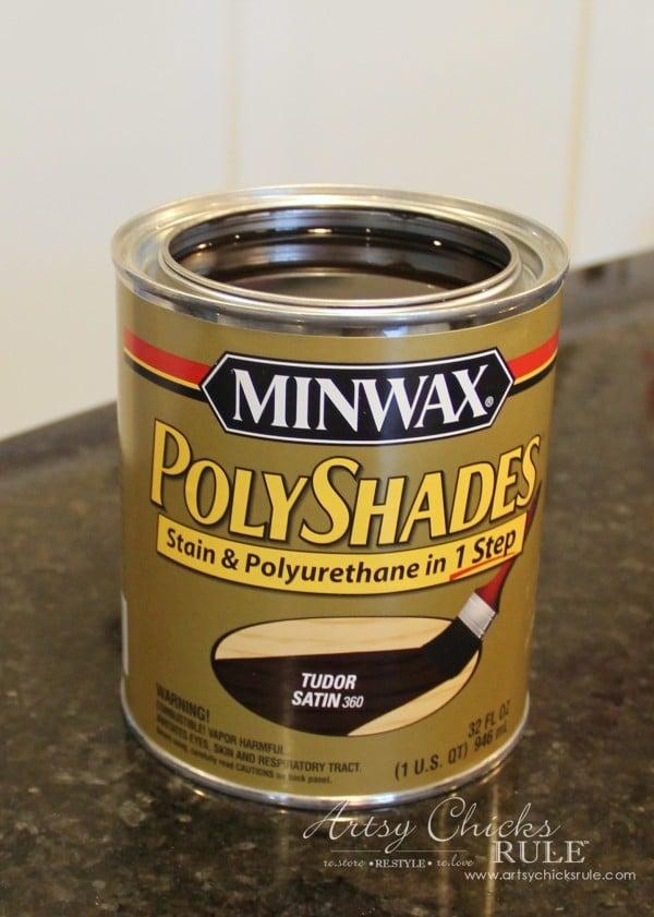 Minwax PolyShades Tudor - Artsy Chicks Rule