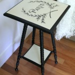 Paris Side Table Makeover (Themed Furniture Tour)