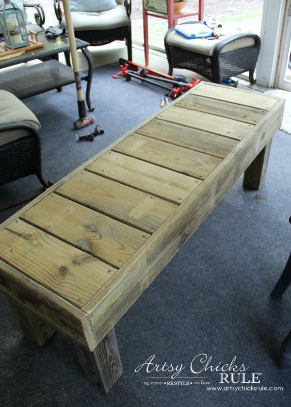 Plans To Build A Wooden Workbench