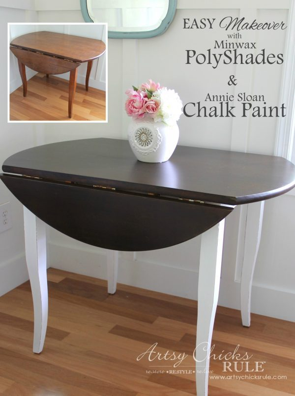 Update Wood Furniture With Polyshades Amp Chalk Paint