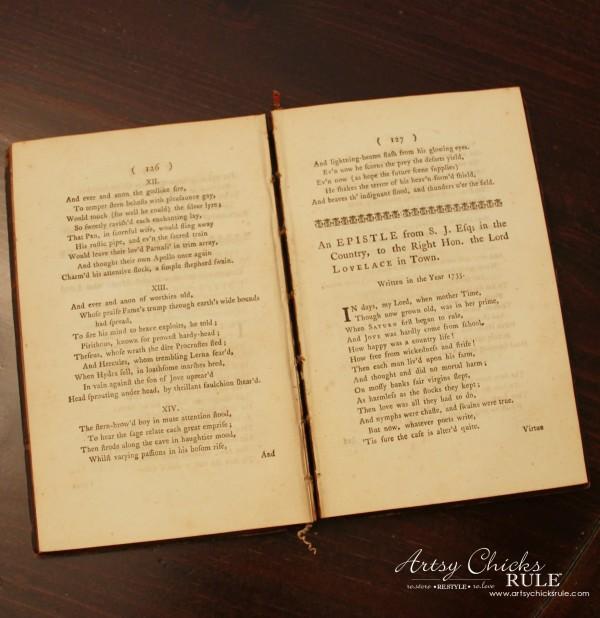 Vintage Collections - 1770 Print Book - #vintage #collections #bluemasonjars #retro #antique artsychicksrule.com
