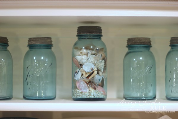 Vintage Collections - Blue Mason Jar Collection - #vintage #collections #bluemasonjars #retro #antique artsychicksrule.com