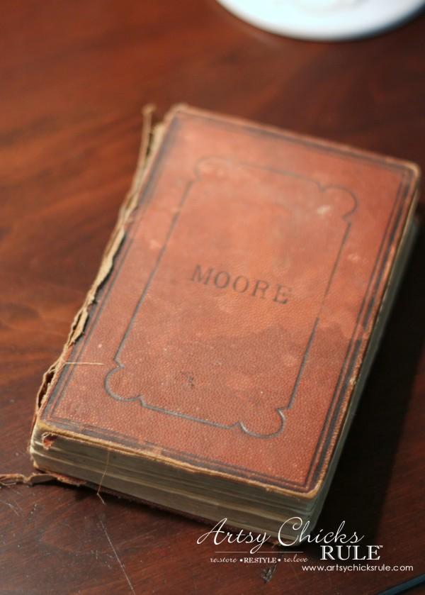 Vintage Collections - Vintage Book - #vintage #collections #bluemasonjars #retro #antique artsychicksrule.com