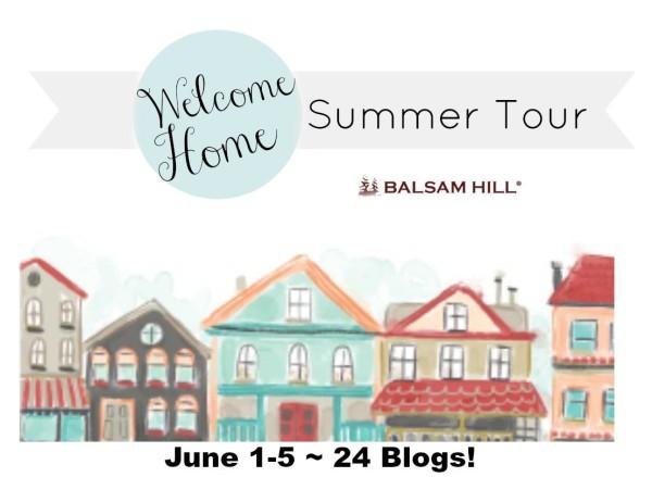 Welcome Home - Balsam Hill Summer Home Tour - artsychicksrule.com