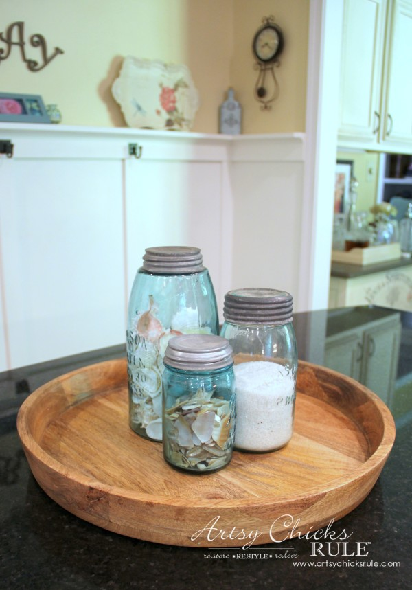 Decorating with Trays - Inspiration for using them in your home! - #coastaldecor #homedecor artsychicksrule.com