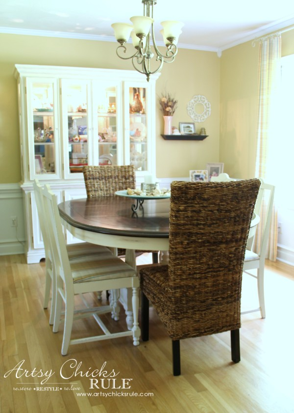 Dining Room Dreaming - Changes and a Dream Board - new chairs #diningroom #dreamboard #coastal #farmhouse artsychicksrule.com