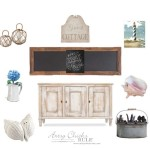 Dining Room Changes & a Dreamboard (Farmhouse Coastal Cottage)