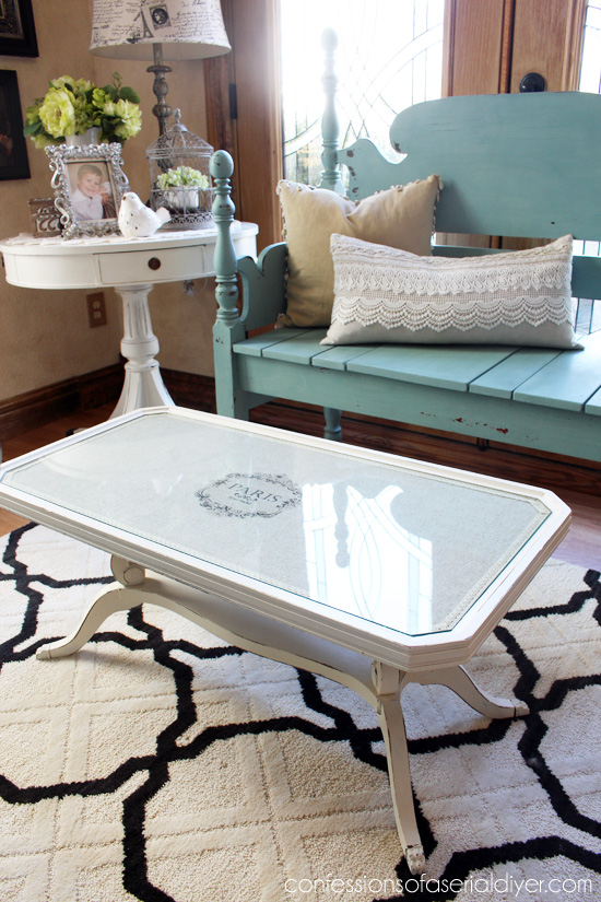 Furniture Makeover with Graphics - Confessions of a Serial Do It Yourselfer 4