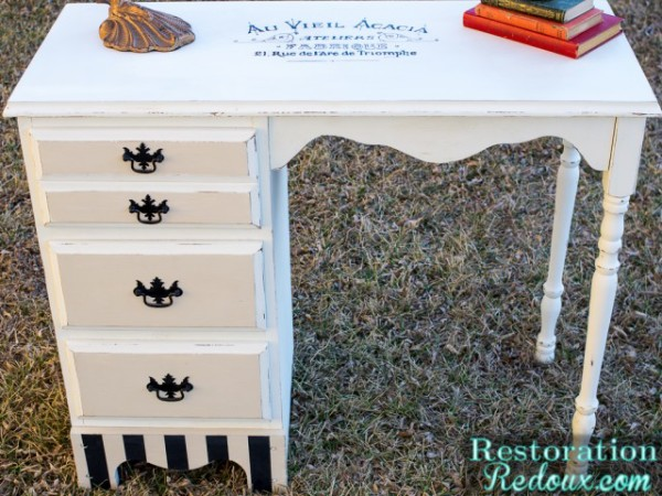 Furniture Makeover with Graphics  - Restoration Redoux