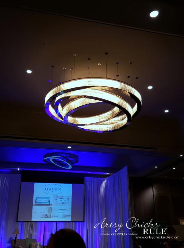 Haven Blogger's Conference 2015- Modern Hotel Lighting - artsychicksrule
