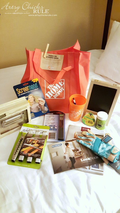 Haven Blogger's Conference 2015- Thank you The Home Depot - artsychicksrule