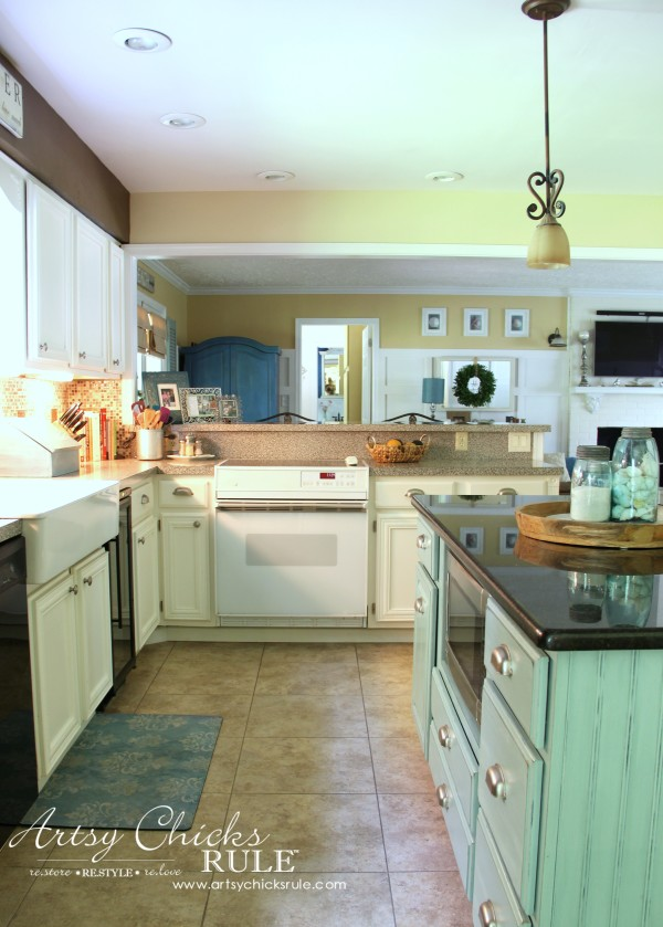 Kitchen Cabinet Makeover Annie Sloan Chalk Paint Artsy