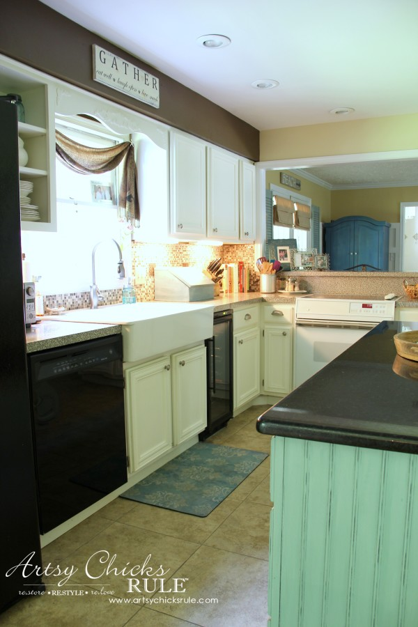 Kitchen Makeover - AFTER - #kitchen #Makeover artychicksrule