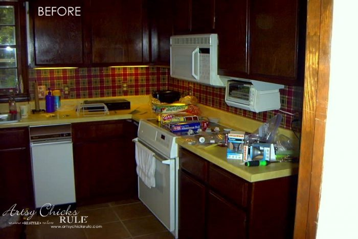 kitchen cabinet makeover with chalk paint artsychicksrule com  kitchencabinetmakeover  chalkpaint kitchen cabinet makeover annie sloan chalk paint   artsy chicks rule    rh   artsychicksrule com