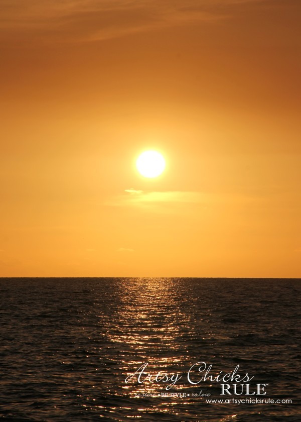 Anna Maria Island Florida Vacation - Beginning sunset - artsychicksrule