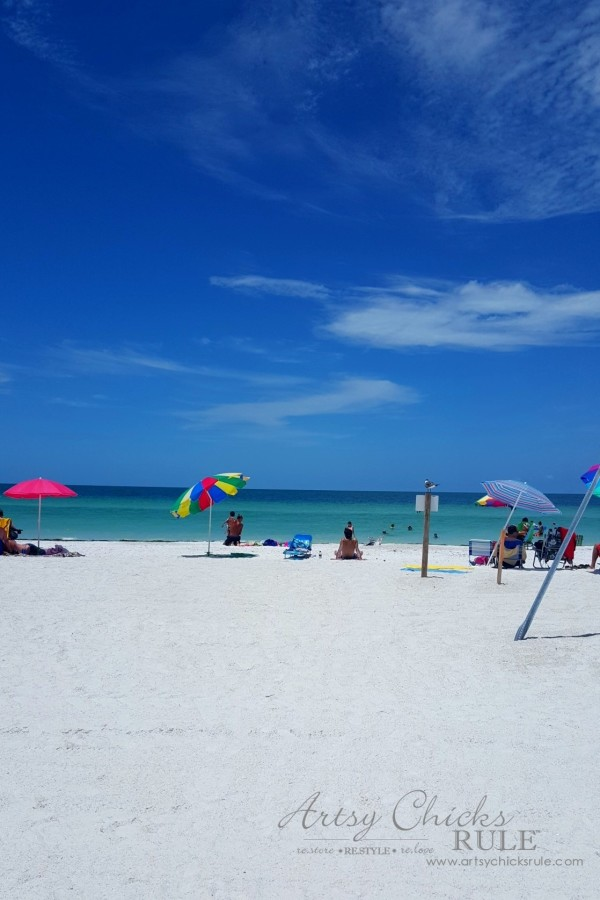 Anna Maria Island Florida Vacation - amazing white sand beaches and crystal blue water - artsychicksrule
