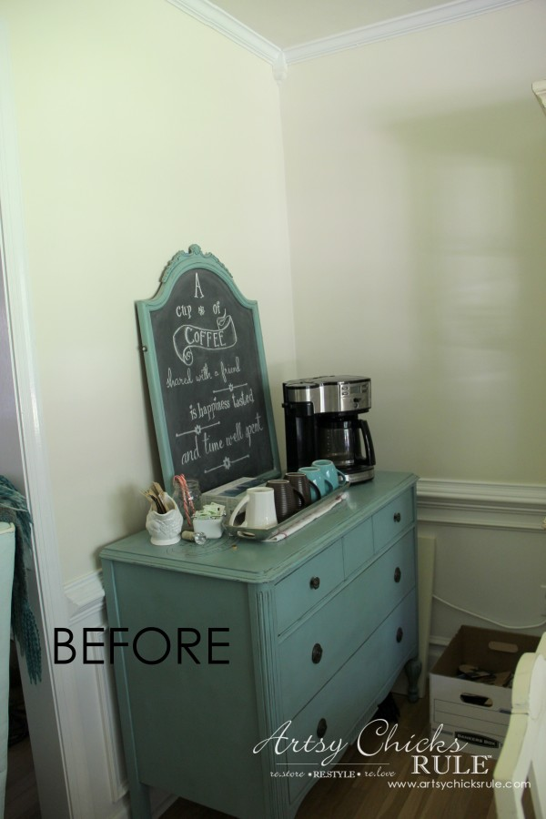 Dining Room Coffee Bar (new design coming) - artsychicksrule