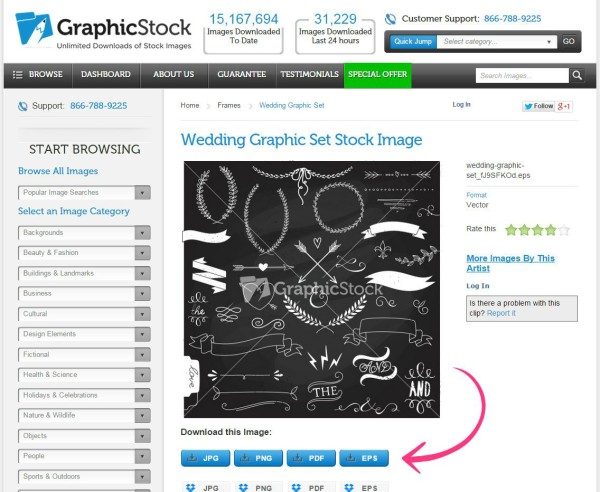 How to Make a Printable and FREE Stock Graphics - GraphicStock - #ad #graphicstockchallenge #freegraphics