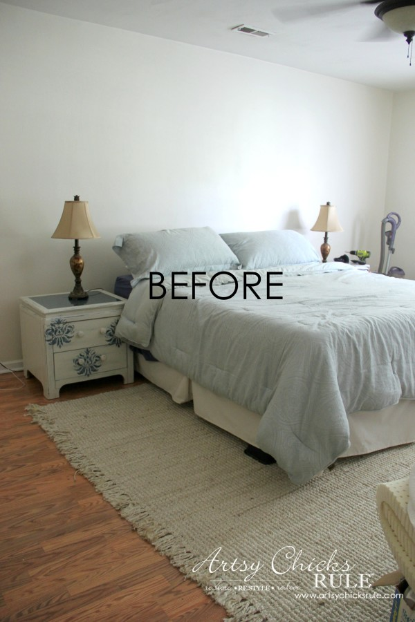 Master Bedroom Plans & a Mood Board - BEFORE redecorating - artsychicksrule