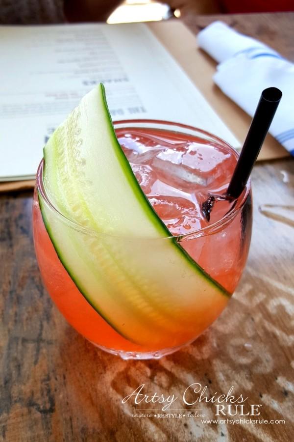 Mount Pleasant SC - Tavern & Table Restaurant - amazing cocktails - artsychicksrule
