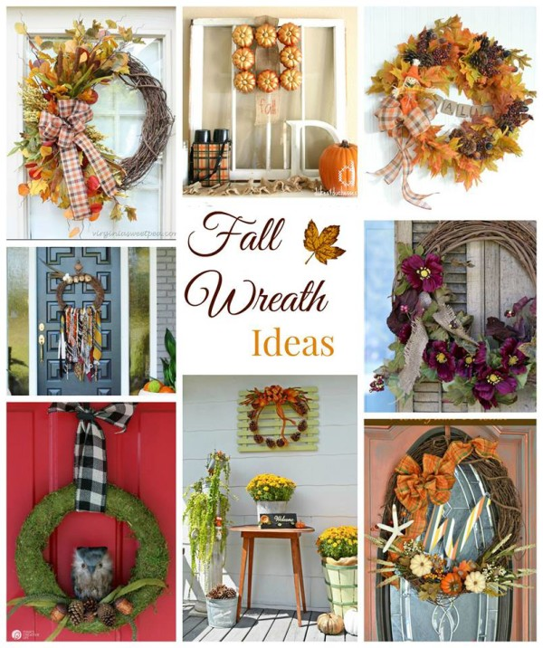 Fall Wreath Ideas - artsychicksrule