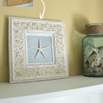 Thrifty Frame Turned Coastal Art