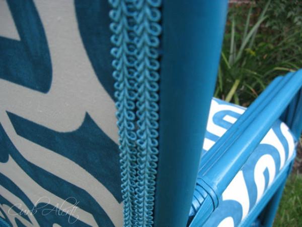 Blue Chair Curb Alert