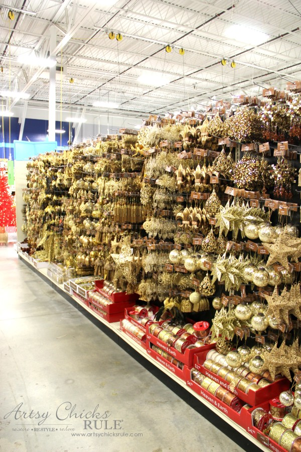Holiday Decor Ideas with At Home (Pt 1 of 3) Heaven & Earth - #AtHomeforChristmas #AtHomeFinds #ad