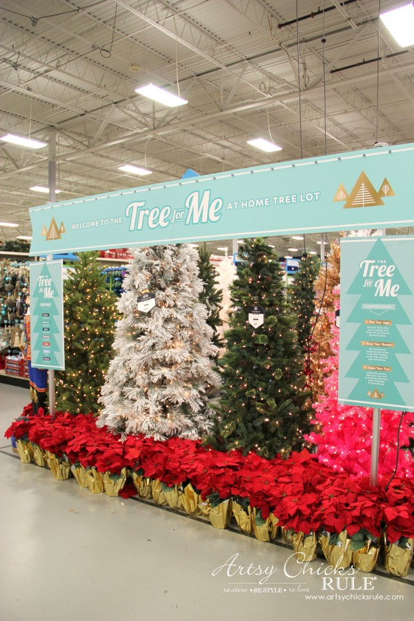 Holiday Decor Ideas with At Home (Pt 1 of 3) Tree for Me Lot - #AtHomeforChristmas #AtHomeFinds #ad
