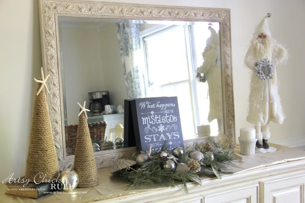 Holiday Decor Ideas with At Home (Pt 1 of 3) Various themes created neutral decor - #AtHomeforChristmas #AtHomeFinds #ad