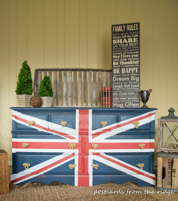 Union Jack Flag - Postcards from the Ridge
